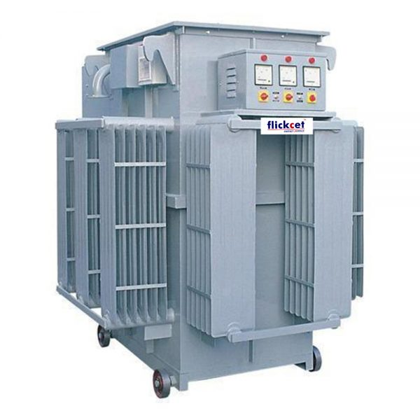 Servo Voltage Stabilizer Linear Type (Oil cooled) Three Phase 300-500 kva