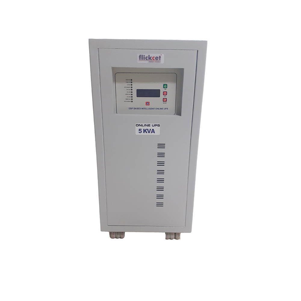 Online UPS 5 kva 1 Phase In – 1 Phase Out
